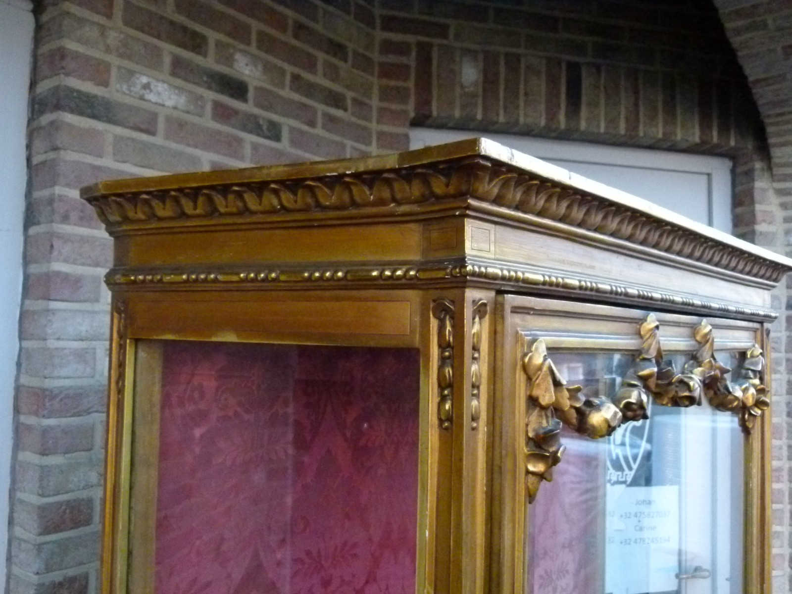 Louis 16 Display Cabinet Vitrine Furniture Johan Doomen